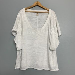 FREE PEOPLE | My boyfriends burnout Tee Sz M